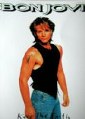 Bon Jovi - 'Keep the Faith Jon' Postcard